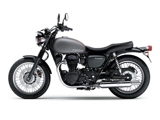画像8: カワサキが「W800」シリーズの2021年モデルを発表! W800/W800ストリート/W800カフェの新色をチェック!