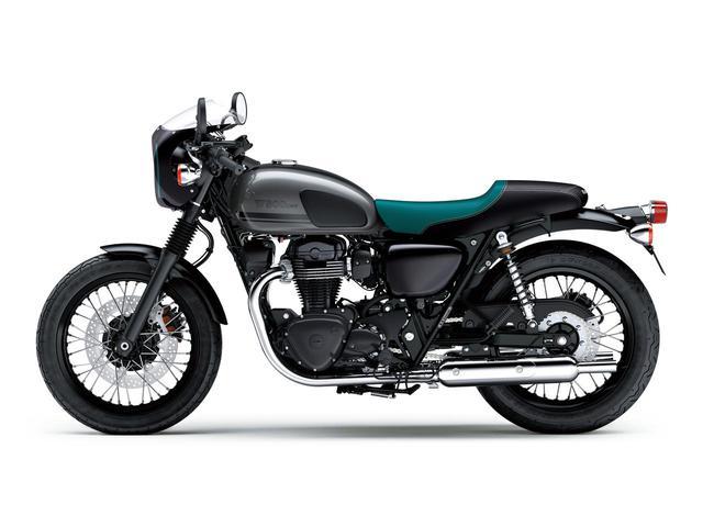 画像14: カワサキが「W800」シリーズの2021年モデルを発表! W800/W800ストリート/W800カフェの新色をチェック!