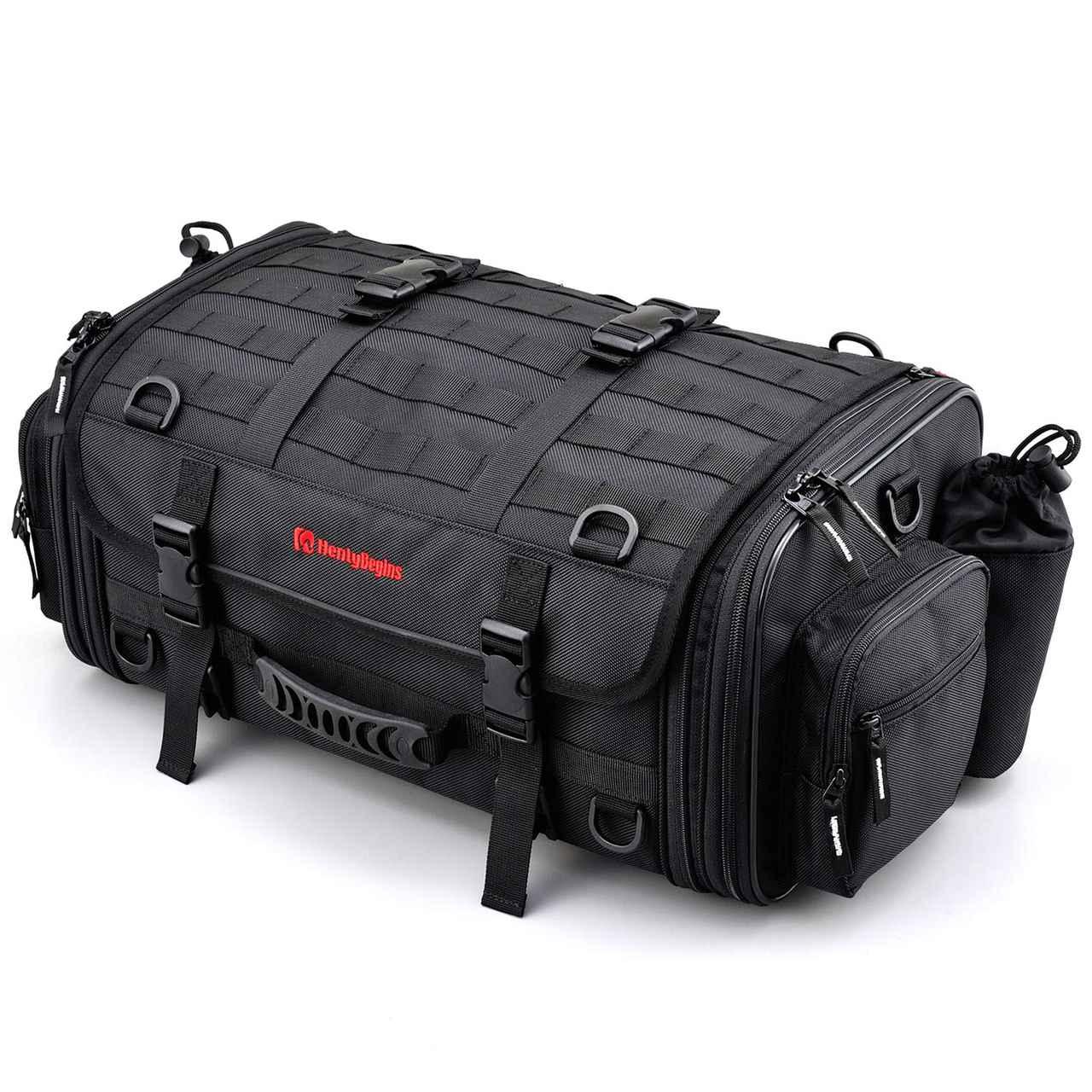 画像: デイトナ ヘンリービギンズ ツーリングシートバッグ M 33~42L|Amazonで価格をチェック!
