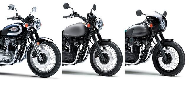 画像20: カワサキが「W800」シリーズの2021年モデルを発表! W800/W800ストリート/W800カフェの新色をチェック!