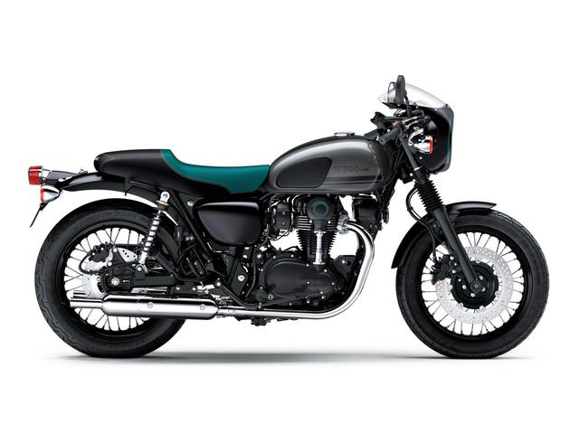 画像15: カワサキが「W800」シリーズの2021年モデルを発表! W800/W800ストリート/W800カフェの新色をチェック!
