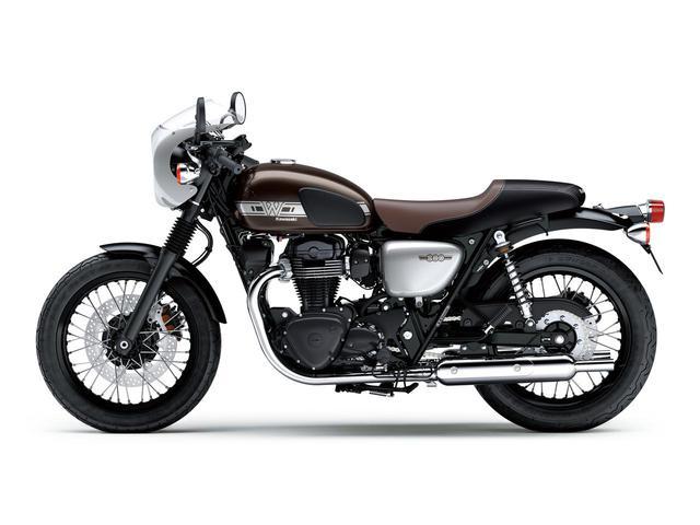 画像17: カワサキが「W800」シリーズの2021年モデルを発表! W800/W800ストリート/W800カフェの新色をチェック!