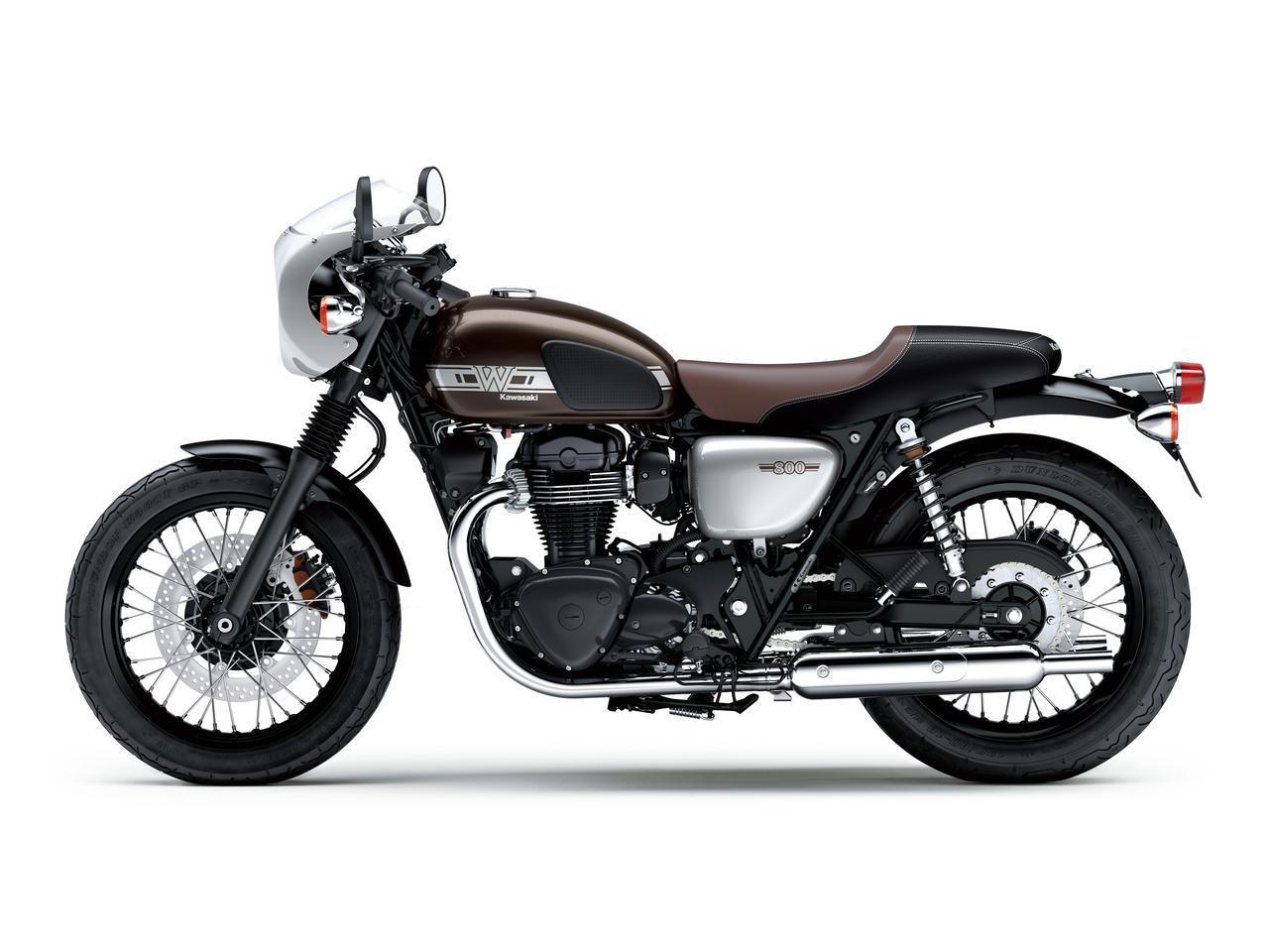 画像17: カワサキが「W800」シリーズの2021年モデルを発売! W800/W800ストリート/W800カフェの新色をチェック!