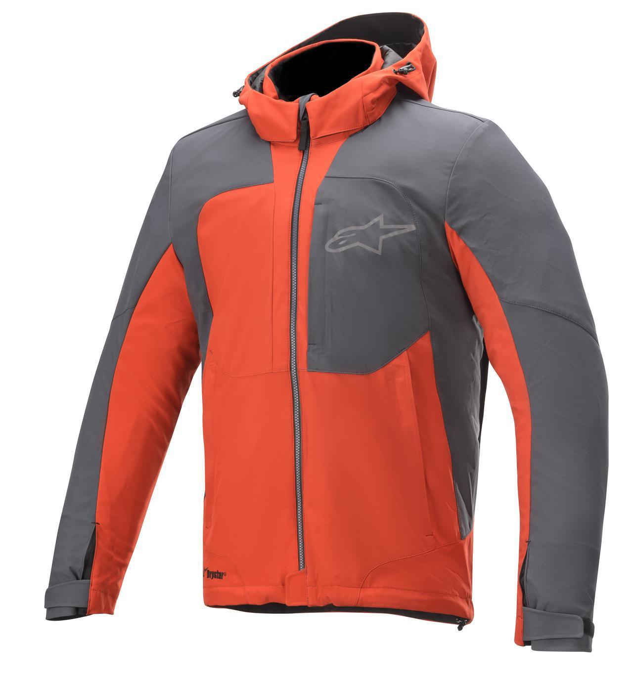画像: Alpinestars STRATOS v2 DRYSTAR® JACKET カラー:ブライトレッドアスファルト