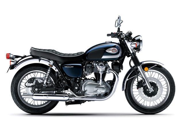 画像3: カワサキが「W800」シリーズの2021年モデルを発表! W800/W800ストリート/W800カフェの新色をチェック!