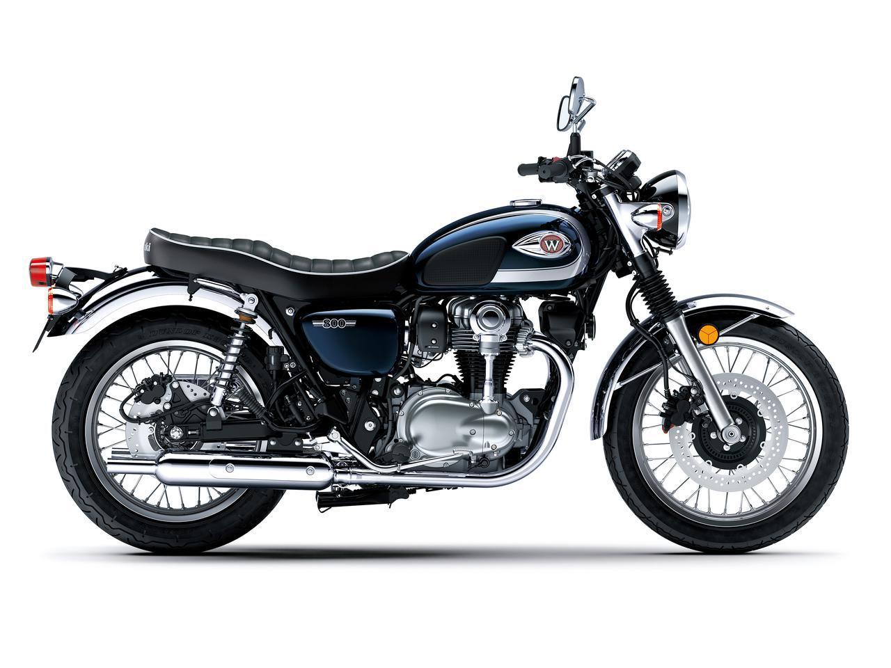 画像3: カワサキが「W800」シリーズの2021年モデルを発売! W800/W800ストリート/W800カフェの新色をチェック!