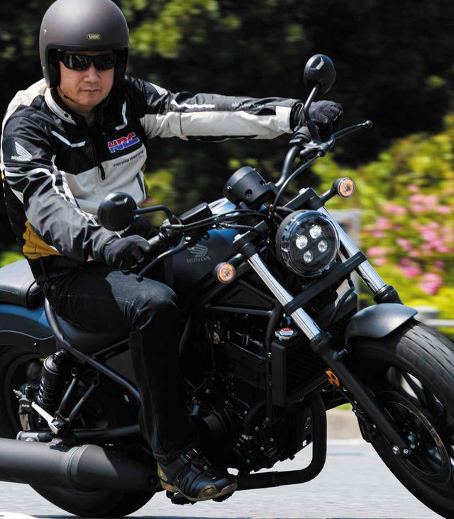 画像: ホンダ新型「レブル250」に伊藤真一さんが初試乗! 街中、高速道路、峠での乗り味をインプレ - webオートバイ