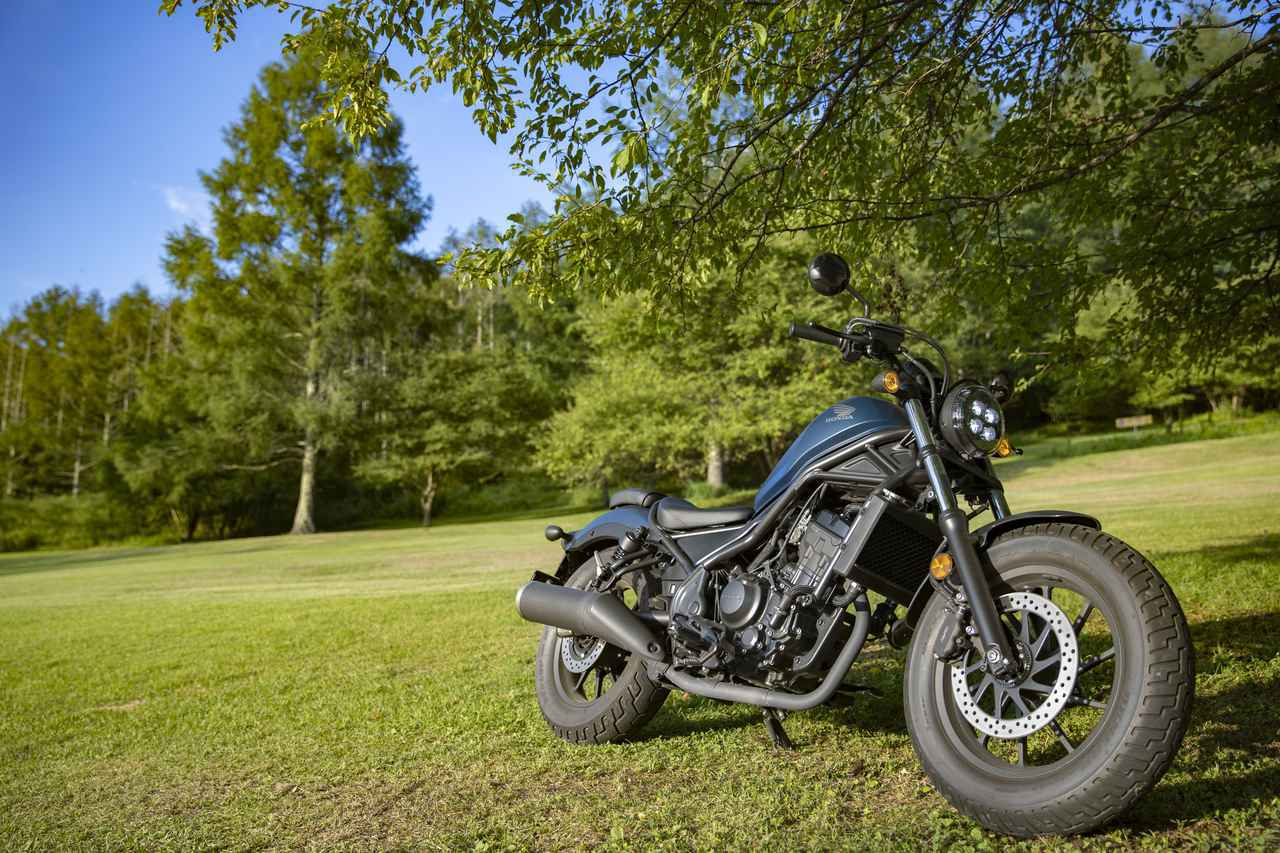 画像: Honda Rebel 250 総排気量:249cc メーカー希望小売価格:税込59万9,500円