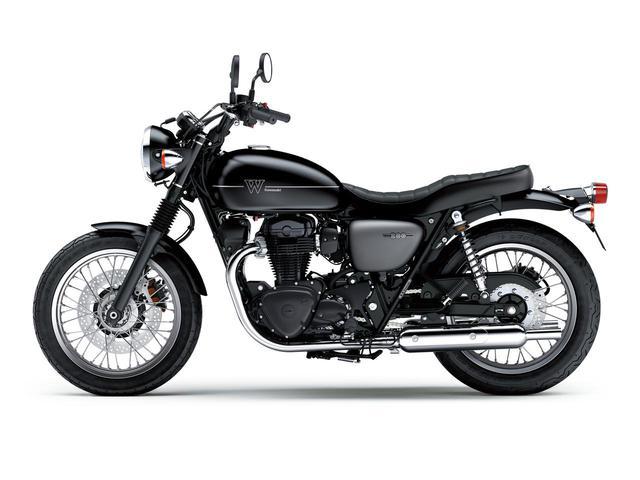 画像11: カワサキが「W800」シリーズの2021年モデルを発表! W800/W800ストリート/W800カフェの新色をチェック!