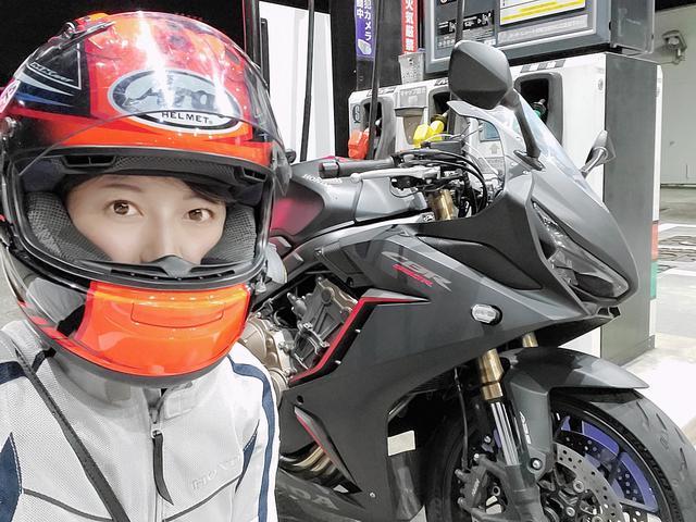 画像1: もちろん!バイクで向かうよ\(^^)/