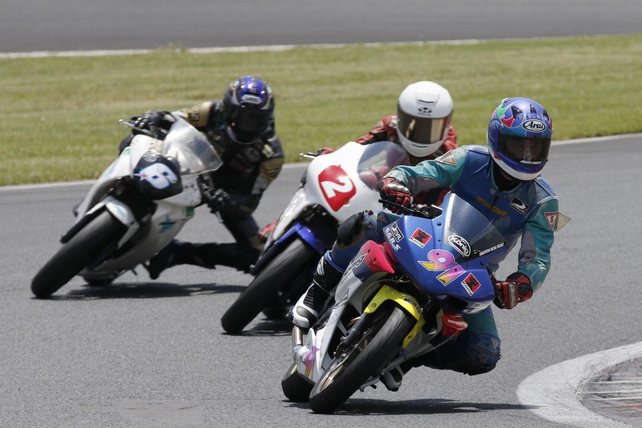 画像: 雄大な国際レーシングコースを愛車のミニバイクで楽しもう!
