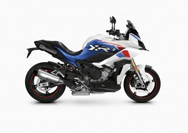 画像: S1000XR。これは欧州仕様の新色、2021年モデルです。