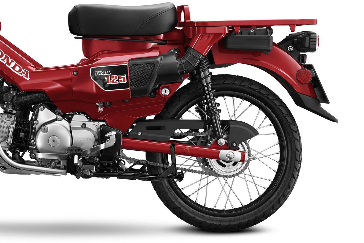 Images : 3番目の画像 - トレール125の写真をもっと見る! - webオートバイ
