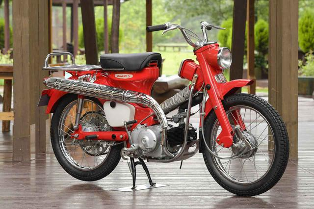 画像: CT200 TRAIL90(1964)