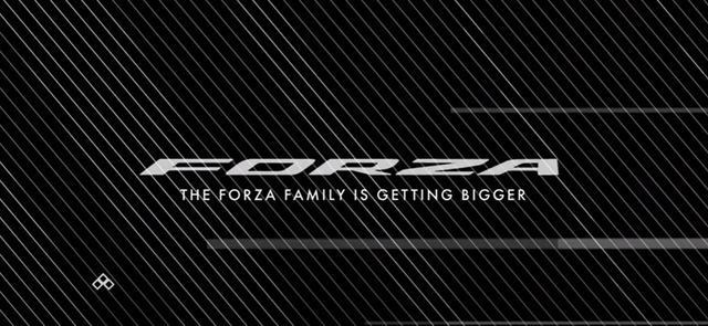 画像: フォルツァシリーズ最大となる大型モデル登場か!?