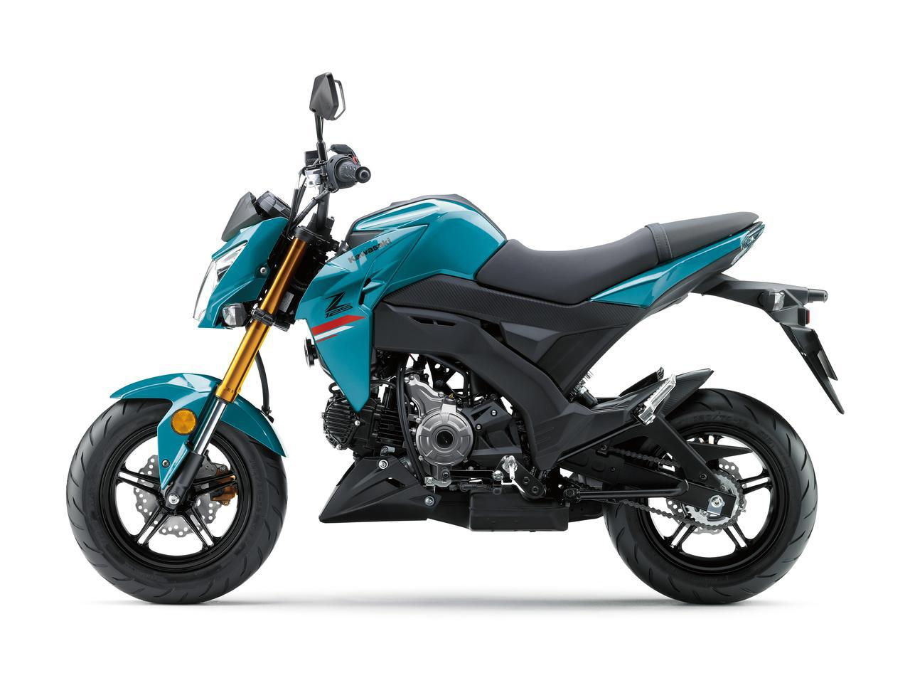 画像12: これが最後!? カワサキが原付二種スポーツバイク「Z125 PRO」の2021年モデルを発表!