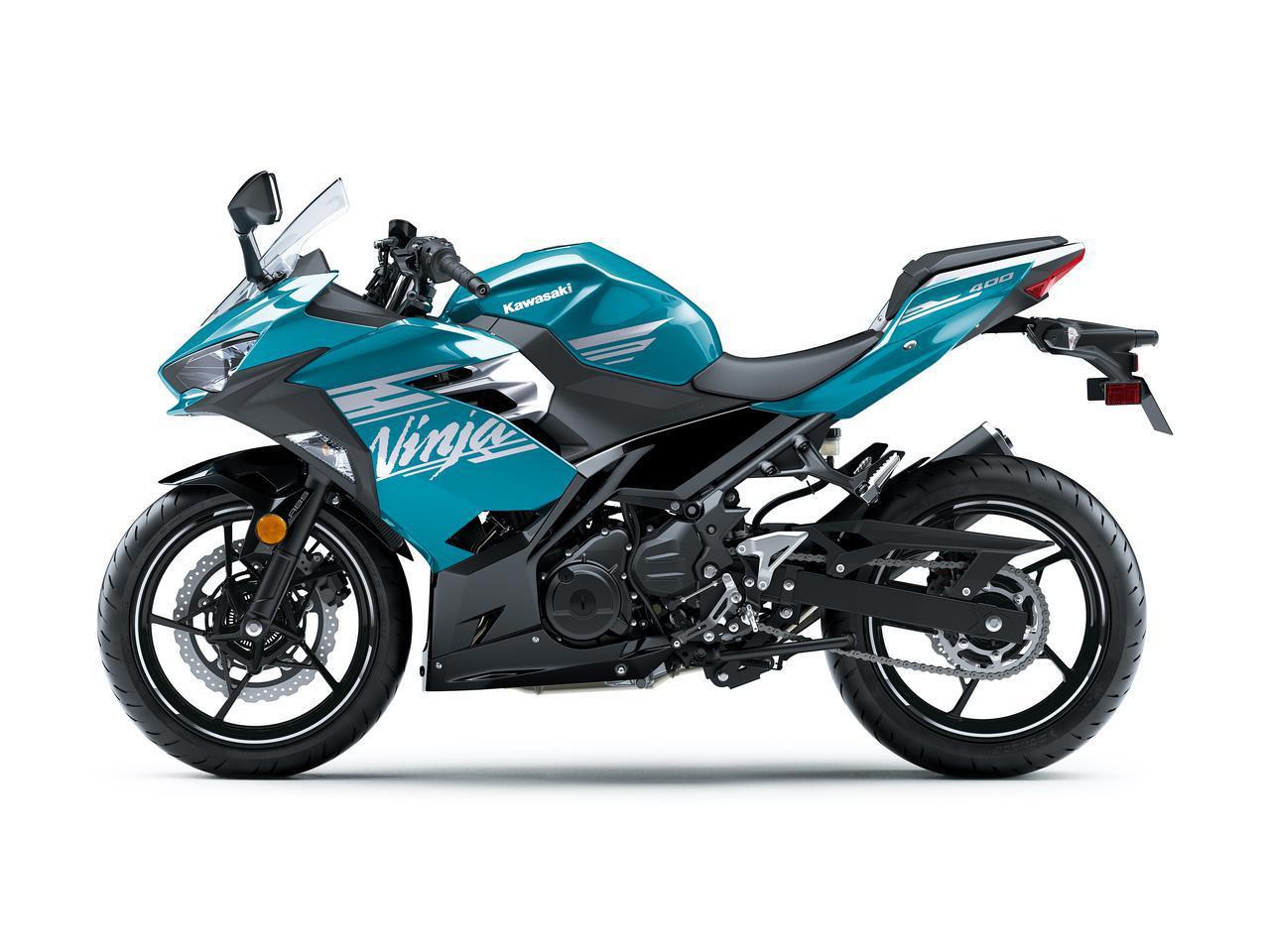 画像5: カワサキが「ニンジャ400」の2021年モデルを発表! KRTエディションと合わせ、3色すべてニューカラーに!