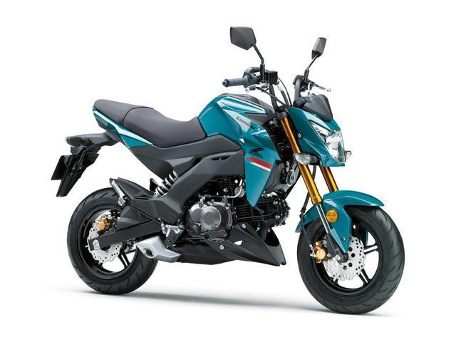画像: Kawasaki Z125 PRO 2021年モデル/カラー:パールナイトシェードティール