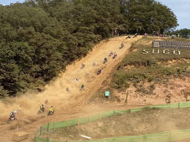画像: これがSUGO名物の「大阪」。写真じゃ伝わりにくいですが、凄い急坂です。