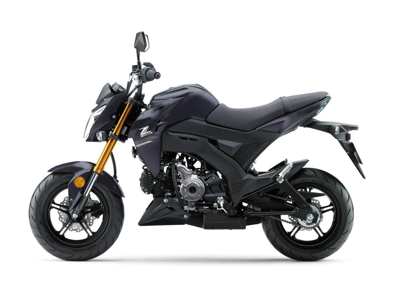 画像3: これが最後!? カワサキが原付二種スポーツバイク「Z125 PRO」の2021年モデルを発表!