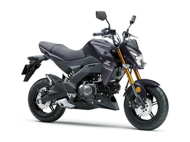 画像2: これが最後!? カワサキが原付二種スポーツバイク「Z125 PRO」の2021年モデルを発表!