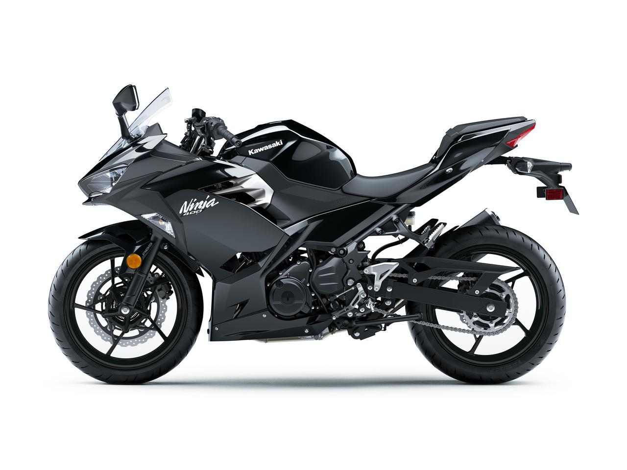 Images : 1番目の画像 - カワサキ「Ninja 400」シリーズ(2021年モデル)の写真をもっと見る! - webオートバイ