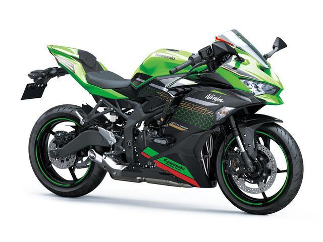 画像: Kawasaki Ninja ZX-25R 総排気量:249cc エンジン:水冷4ストDOHC4バルブ並列4気筒 メーカー希望小売価格(税込):82万5,000円/SE、SE KRT EDITIONは、91万3,000円 発売予定日:2020年9月10日 ※写真のモデルは、Ninja ZX-25R SE KRT EDITION