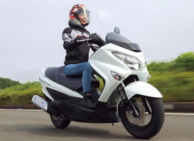 画像: 【試乗インプレ】スズキ「バーグマン200」ちょうどよさが光る! 扱いやすくて装備も充実、収納力も抜群! - webオートバイ