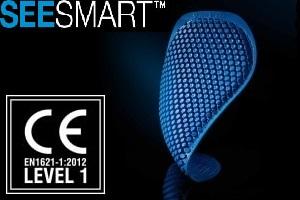 画像: 肩と肘にはCE-level 1  SEESMART™プロテクターを標準装備
