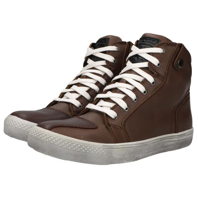 画像: RIDEZ SNEAKERS MOTO-01 BROWN