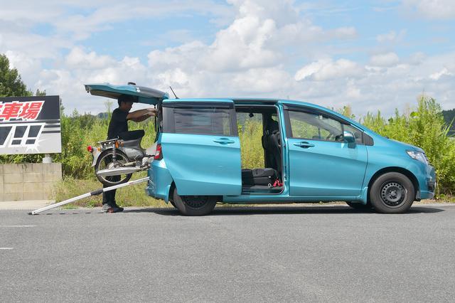 画像: 余裕すぎるぜ。長いだけあって載せやすさは最高。ぶっちゃけ3本どれでも好みで選んで大丈夫。