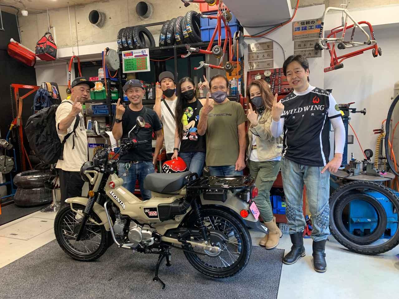 Images : 17番目の画像 - 「ハンターカブだよ! あたしも、カブ主になりました。(福山理子)」のアルバム - webオートバイ