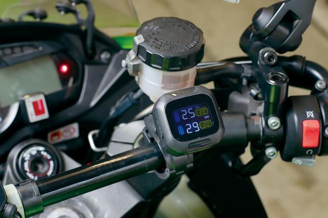 画像: タイヤのモニタリングシステムで、寒い冬こそ空気圧と内部温度をしっかりチェック!<ギアーズテスト> - webオートバイ