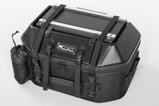 画像: TANAX MOTOFIZZ「キャンプテーブルシートバッグ」 [カラー] ブラック、カーボン柄、ブラウン [サイズ] 幅540㎜×奥行370㎜×高さ300㎜ [容 量] 45L [税込価格]3万9600円