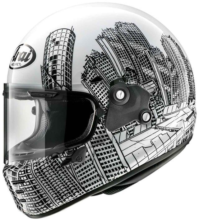 画像: あ、おしゃれ。あのロアーズとアライヘルメットがコラボ! 2020年デザイナーズシリーズ第2弾「ラパイド・ネオ ロアーズ」 - webオートバイ