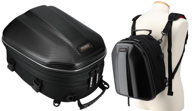 画像: シートバッグだけどリュックにもなる! しかもフルフェイスヘルメットが入る! ひとつで何役もこなす便利なライダー向けバッグ - webオートバイ