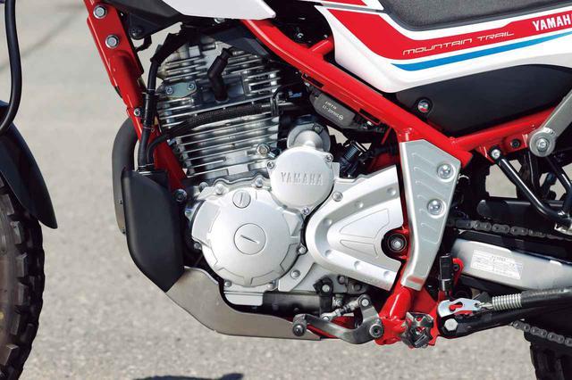 画像: 活性炭に蒸発ガソリンを吸着させ、外気への排出を低減させるキャニスターを装備。