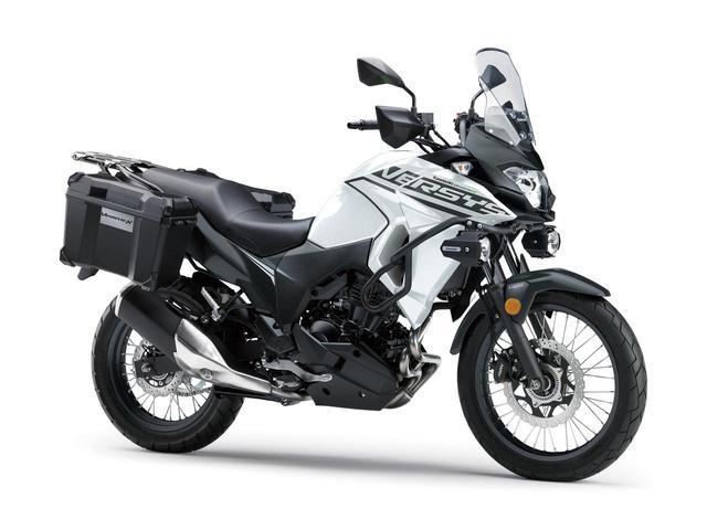 画像: カワサキが「VERSYS-X 250 TOURER」の2020年モデルを販売開始! 初めての白ボディ、さらに都市迷彩風のグレーも新たなグラフィックで復活 - webオートバイ