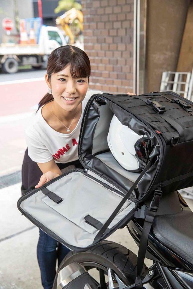 画像: 装着確実+容量可変+頑丈のシートバッグ【Henly Begins ツーリングシートバック DH-719】 - webオートバイ