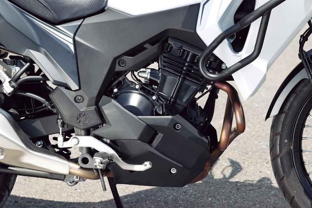 画像: デュアルスロットルバルブを採用したニンジャ譲りのパラレルツインは高回転域も力強い。