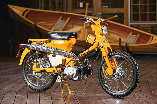 画像: Honda HUNTER CUB C105H(1963年)