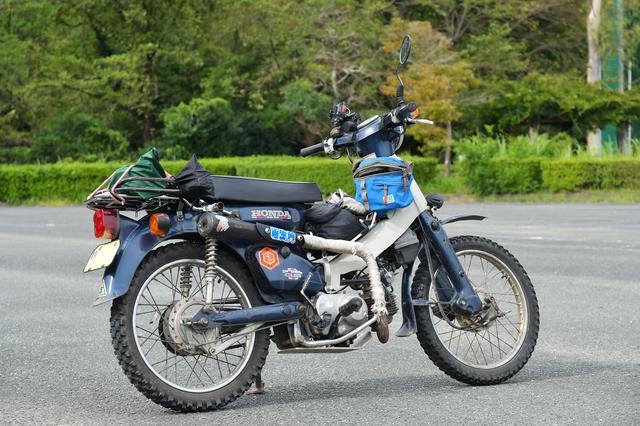 画像: 林道メンターNOBさんの愛車。タイヤ選びに悩んでいるとか。