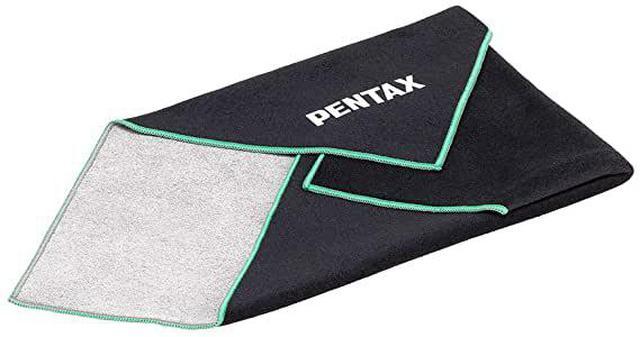 画像: イージーラッパー O-CC179 Mサイズ ペンタックス PENTAX ロゴ入り クロス EASY WRAPPER 35cm × 35cm|Amazon