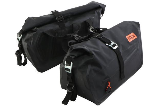 画像3: 250ccスポーツバイクにぴったりな防水バッグ! 雨や汚れを気にせず使えるドッペルギャンガー「ターポリン サイドバッグ 25」