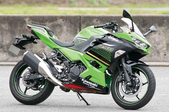 画像: Kawasaki Ninja 250 総排気量:248cc エンジン形式:水冷4ストDOHC4バルブ並列2気筒 最高出力:27kW(37PS)/12,500rpm 最大トルク:23N・m(2.3kgf・m)/10,000rpm 2020年モデルの発売日:2019年9月1日 メーカー希望小売価格:税込65万4,500円 ※写真のカラーはNinja 250 KRT EDITION