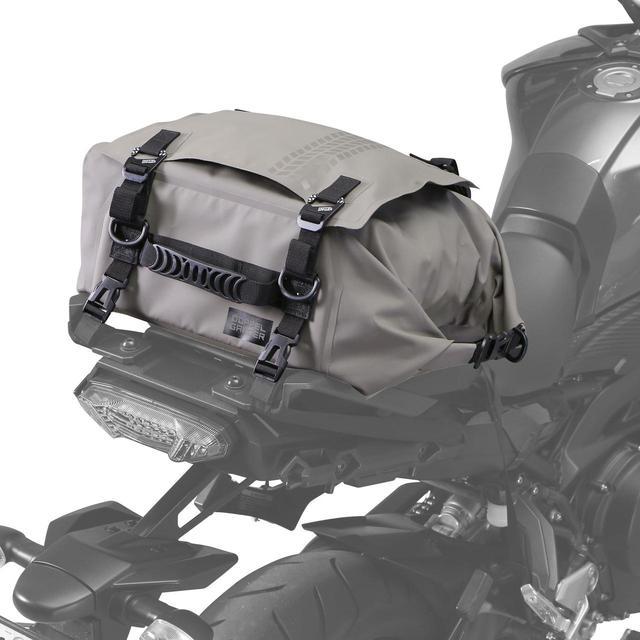 画像: 日帰りツーリングにちょうどいい! ドッペルギャンガーの新型防水シートバッグ - webオートバイ