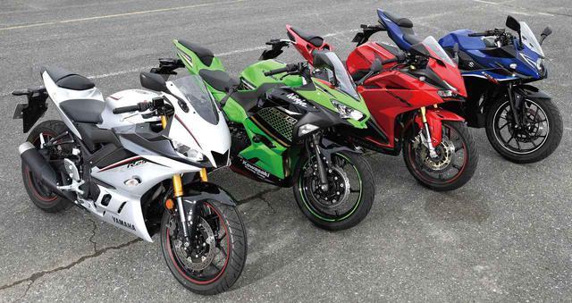 画像1: 【スズキ GSX250R 編】チュートリアル福田充徳さんが250ccスポーツバイクを乗り比べ!〈サーキット試乗インプレ〉
