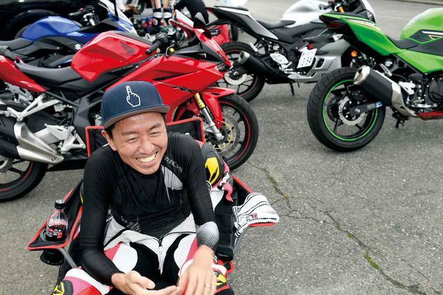 画像1: 【カワサキ Ninja250 編】チュートリアル福田充徳さんが250ccスポーツバイクを乗り比べ!〈サーキット試乗インプレ〉