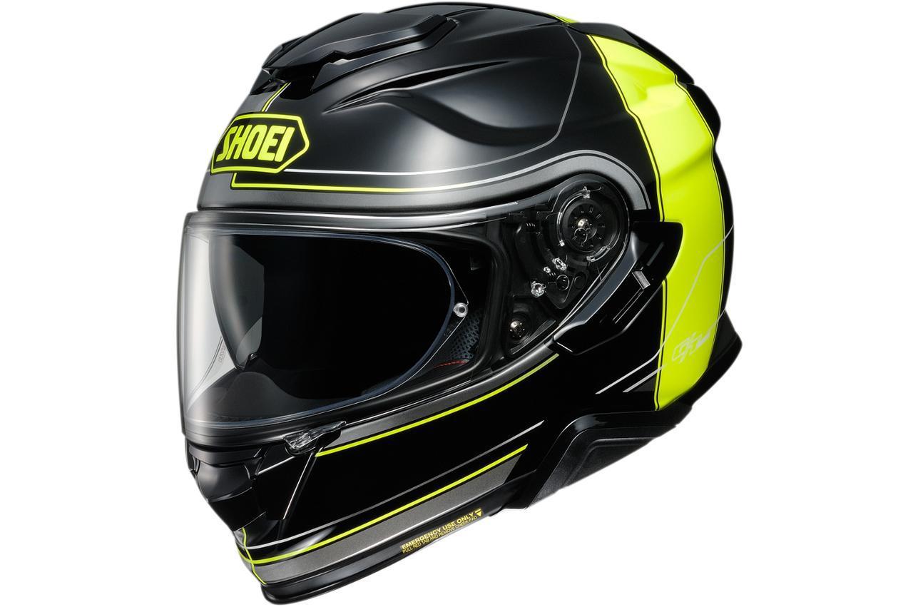 画像: 【SHOEI】人気のインナーバイザー付きフルフェイスヘルメット「GT-AirII」にグラフィックモデル〈CROSSBAR〉が登場! - webオートバイ