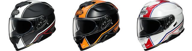 画像2: 【SHOEI】インナーサンバイザー付きフルフェイスヘルメット「GT-AirII」の新グラフィックモデル〈パノラマ〉が登場!